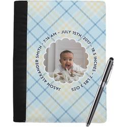 Baby Boy Photo Notebook Padfolio (Personalized)