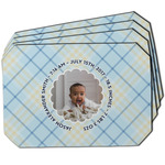 Baby Boy Photo Dining Table Mat - Octagon