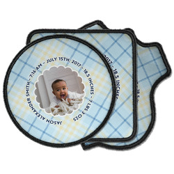 Baby Boy Photo Iron on Patches