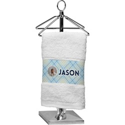 Baby Boy Photo Finger Tip Towel (Personalized)