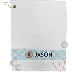 Baby Boy Photo Golf Towel (Personalized)