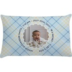 Baby Boy Photo Pillow Case (Personalized)