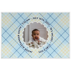 Baby Boy Photo Placemat (Laminated) (Personalized)