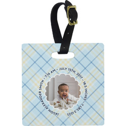 Baby Boy Photo Luggage Tags (Personalized)