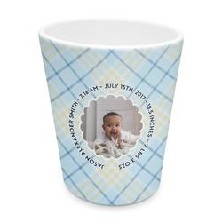 Baby Boy Photo Plastic Tumbler 6oz (Personalized)