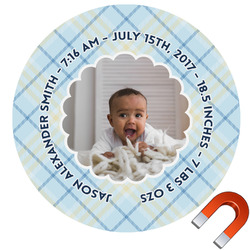 Baby Boy Photo Car Magnet (Personalized)