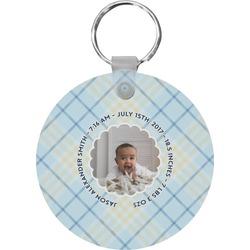 Baby Boy Photo Keychains - FRP (Personalized)