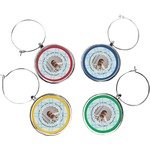 Baby Boy Photo Wine Charms (Set of 4) (Personalized)