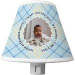 Baby Boy Photo Shade Night Light (Personalized)