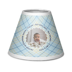 Baby Boy Photo Chandelier Lamp Shade (Personalized)