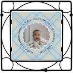 Baby Boy Photo Trivet (Personalized)