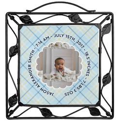 Baby Boy Photo Trivet (Personalized)
