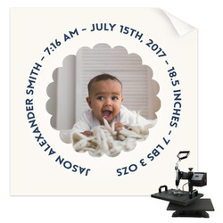 Baby Boy Photo Sublimation Transfer (Personalized)