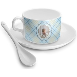 Baby Boy Photo Tea Cup - Single (Personalized)