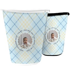 Baby Boy Photo Waste Basket (Personalized)
