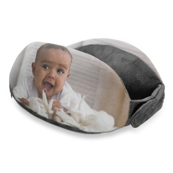 Baby Boy Photo Travel Neck Pillow (Personalized)