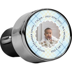 Baby Boy Photo USB Car Charger (Personalized)