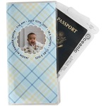 Baby Boy Photo Travel Document Holder
