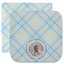 Baby Boy Photo Facecloth / Wash Cloth (Personalized)