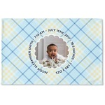 Baby Boy Photo Woven Mat (Personalized)