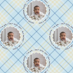 Baby Boy Photo Wrapping Paper (Personalized)