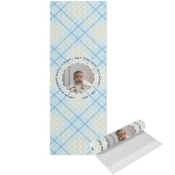 Baby Boy Photo Yoga Mat - Printed Front (Personalized)