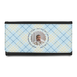 Baby Boy Photo Leatherette Ladies Wallet (Personalized)