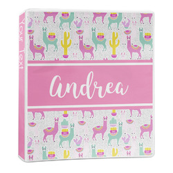 Llamas 3-Ring Binder - 1 inch (Personalized)