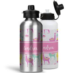 Llamas Water Bottles- Aluminum (Personalized)