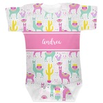 Llamas Baby Bodysuit (Personalized)