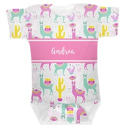 Llamas Baby Bodysuit (Personalized)