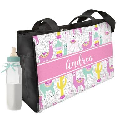 Llamas Diaper Bag w/ Name or Text