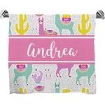 Llamas Bath Towel (Personalized)