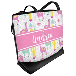 Llamas Beach Tote Bag (Personalized)
