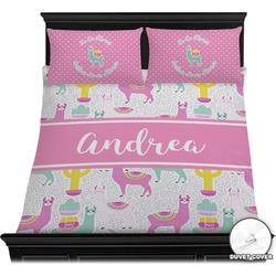Llamas Duvet Cover Set (Personalized)