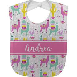 Llamas Baby Bib (Personalized)