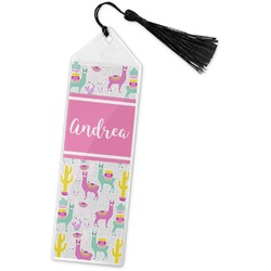 Llamas Book Mark w/Tassel (Personalized)