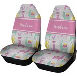 Llamas Car Seat Covers (Set of Two) (Personalized)