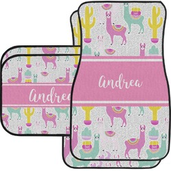 Llamas Car Floor Mats (Personalized)