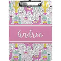 Llamas Clipboard (Personalized)