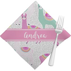 Llamas Napkins (Set of 4) (Personalized)