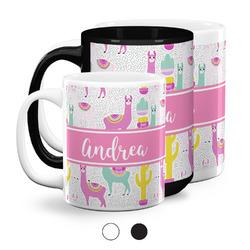 Llamas Coffee Mugs (Personalized)