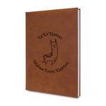 Llamas Leatherette Journal (Personalized)