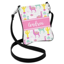 Llamas Cross Body Bag - 2 Sizes (Personalized)