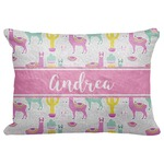 "Llamas Decorative Baby Pillowcase - 16""x12"" (Personalized)"