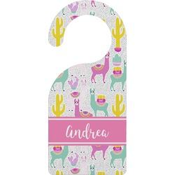 Llamas Door Hanger (Personalized)