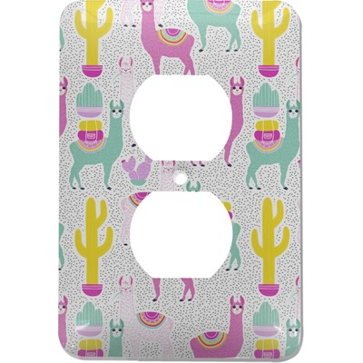 Llamas Electric Outlet Plate (Personalized)