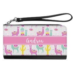 Llamas Genuine Leather Smartphone Wrist Wallet (Personalized)