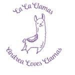 Llamas Glitter Sticker Decal - Custom Sized (Personalized)