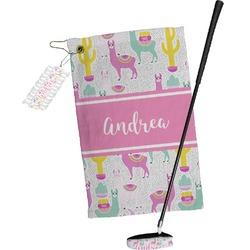 Llamas Golf Towel Gift Set (Personalized)